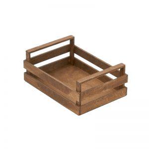 Дървена касетка Венге 25х18х10см - Don Chef