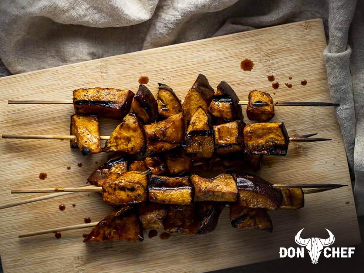 Ямайски патладжан на скара - Don Chef