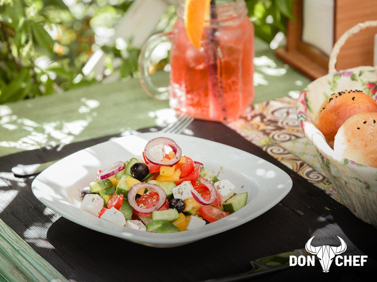 Don Chef- Гръцка салата с Френски билки